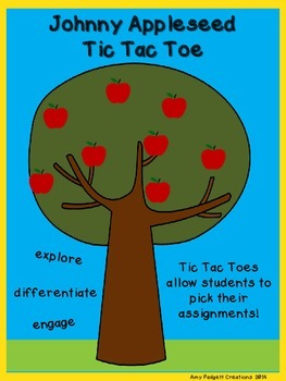 Johnny Appleseed Tic Tac Toe