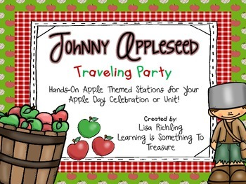 Johnny Appleseed Traveling Party: Apple Day Stations