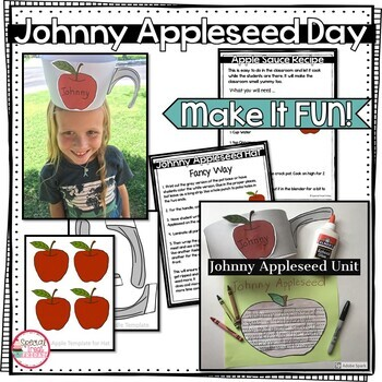 Johnny Appleseed Activities and Informational Writing