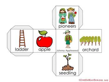 Johnny Appleseed Vocabulary On a Roll