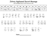 Johnny Appleseed Word Games