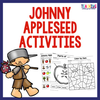 Johnny Appleseed Worksheets By Teaching Where Youre Called Tpt