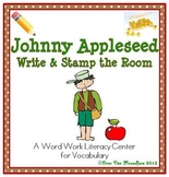 Johnny Appleseed Write / Stamp the Room Activity Pack