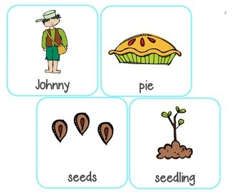 Johnny Appleseed Write and Count the Room!