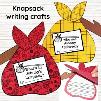 Johnny Appleseed Fall Writing Craft, Minilessons, & Printables