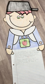 Johnny Appleseed Writing Craftivity & Printables for Big Kids