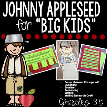 Johnny Appleseed Activities and Johnny Appleseed Craft and Writing