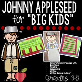 Johnny Appleseed Activities and Johnny Appleseed Craft and