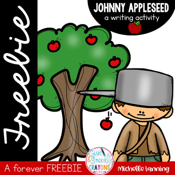 Johnny Appleseed Writing FREEBIE