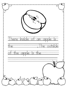 Johnny Appleseed Writing Prompts