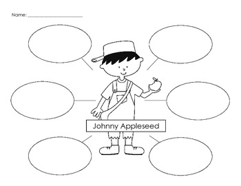Johnny Appleseed Writing and Craftivity