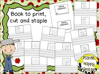 Johnny Appleseed ~ Writing and Sequencing Activity