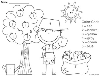 Johnny Appleseed and Apple Life Cycle Unit with Math and Literacy