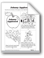 Johnny Appleseed and Apples