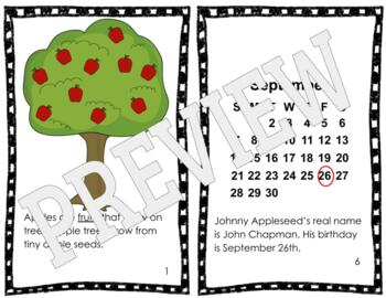 Johnny Appleseed and Apples Reader