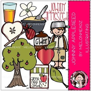 Johnny Appleseed clip art- by Melonheadz