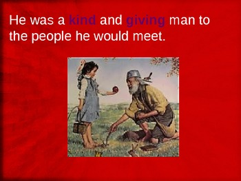 Johnny Appleseed free Powerpoint