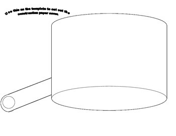 Johnny Appleseed hat template