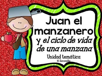 Johnny Appleseed in Spanish - Juan el manzanero