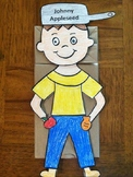 Johnny Appleseed puppet
