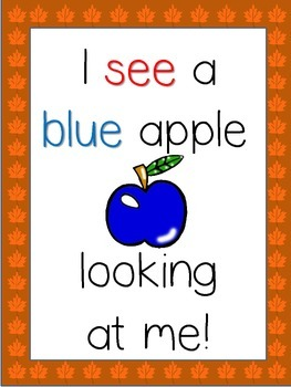 Johnny Appleseed, what do you see?  (booklet and/or visuals)
