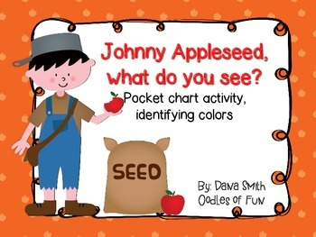 Johnny Appleseed, what do you see? (pocket chart game to i