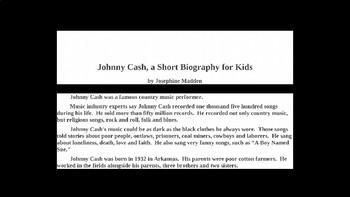 Johnny Cash PowerPoint