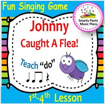 Johnny Caught A Flea {Kodaly Song for teaching ta, ti ti,