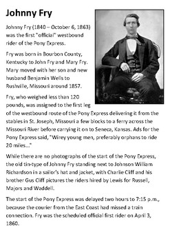 Johnny Fry Handout