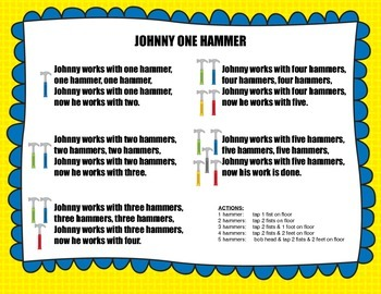 Johnny One Hammer - An Activity for SO, MI & DO