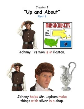 Johnny Tremain Chapter 1 - Pre-Primer/Primer Modified Summary