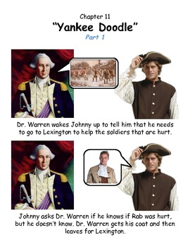 Johnny Tremain Chapter 11- Simplified summary with pictures