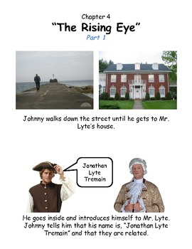 Johnny Tremain Chapter 4- Simplified summary with pictures