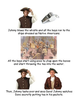 Johnny Tremain Chapter 6- Simplified summary with pictures