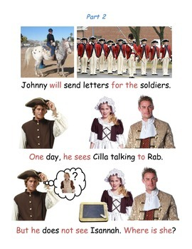 Johnny Tremain Chapter 7 - Pre-Primer/Primer Modified Summary