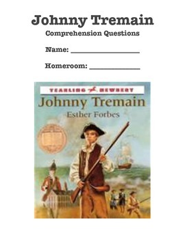 Johnny Tremain Chapter Questions