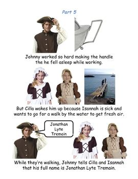 Johnny Tremain - Modified Book, Simplified Text with Pictures