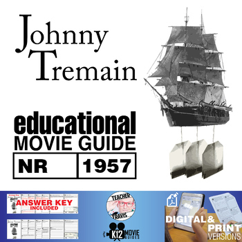 Johnny Tremain Movie Guide | Questions | Worksheet (NR - 1957)