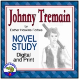 Johnny Tremain Literature Guide - A Story of the American Revolution