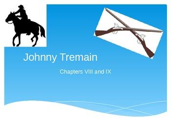Johnny Tremain Vocabulary Chapter 8 and 9