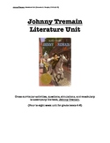 Johnny Tremain cross-curricular literature unit