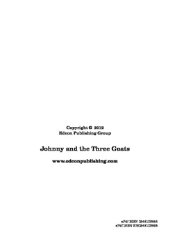 Johnny and the Three Goats Short Story
