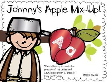 Johnny's Alphabet Mix-Up Alphabet Centers