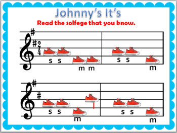 "Johnny's ""It"" {Kodaly Folk Song to teach ta, ti-ti, so-mi-la}"