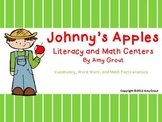 Johnny's Apples: Literacy and Math Centers with Johnny Appleseed