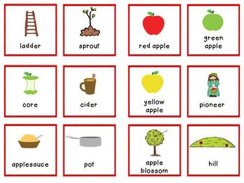 Johnny's Apples:Literacy Center Activities with Johnny Appleseed