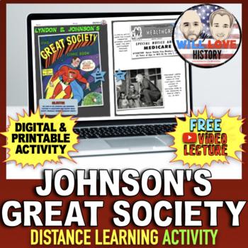 """Lyndon B. Johnson's """"Great Society"""" Activity"""