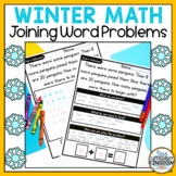 Winter Math Worksheets 1st grade Missing Addend Word Problems Join