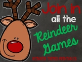 Join in all the Reindeer Games - Reindeer Themed Printables
