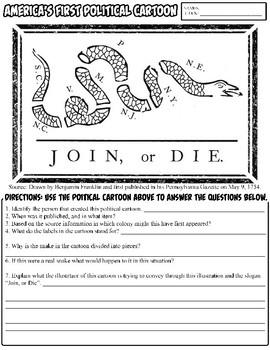Join or Die Political Cartoon Analysis